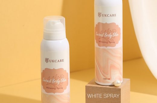 whitening spray